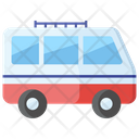 Vanity Van Camping Wagon Camper Van Icon