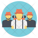 Traveling Together Friends Icon