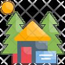 Campsite Reservation Nature Icon