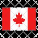 Canada Flag Canadian Icon