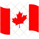 Flag Country Canada Icon