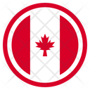 Canada Country National Icon