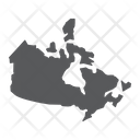 Canada Country Geograpgy Icon