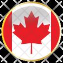 Canada National Flag Icon