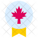 Canada National Badge Canada Badge Canada Icon
