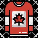 Canada T Shirt Icon