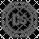 Canadian Dollar Canada Icon