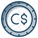 Canadian Currency Canadian Coin Finance Icon