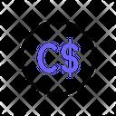 Canadian Dollar Icon