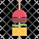 Canape Barbecue Icon