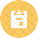 Cancel Rejected File Icon