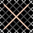 Cancel Remove Cross Icon