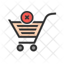Cancel Order Cart Icon