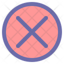 No Agreement Stop Icon