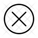 Cancel Delete Cross Icon