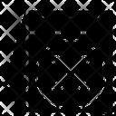 Cancel Elide Repeal Icon