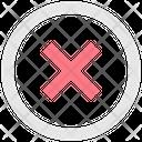 Cancel Remove Delete Icon