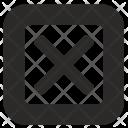 Cancel Choice Remove Icon
