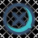 Cancel Failed Decline Icon