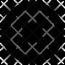 Circle Cross Error Icon