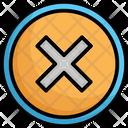 Cancel Cross Delete Icon