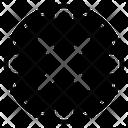 Cancel Cross Error Icon