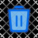 Cancel Trash Delete Icon