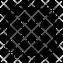 Cancel Delete Cross Sign Icon