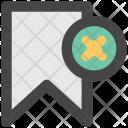 Cancel Bookmark Favourite Icon