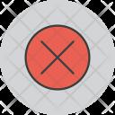 Cancel Reject Remove Icon