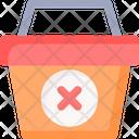 Cancel Basket Icon