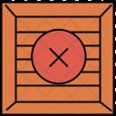Cancel Crate Box Icon