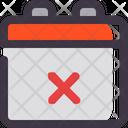 Cancel calendar Icon