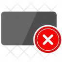 Cancel card Icon