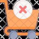 Cancel Cart Icon