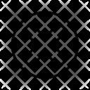 Cancel Close Cross Icon