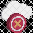 Cancel Cloud Remove Cloud Cloud Computing Icon