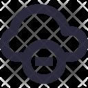 Remove Cloud Cancel Icon