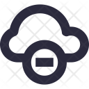 Cancel Cloud Icon