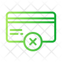 Cancel  Creditcard Icon