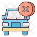 Cancel Delivery Icon