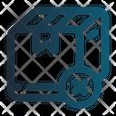 S Canceled Cart Ecommerce Icon