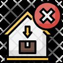 Cancel Error Delivery Icon