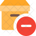 Cancel Delivery Remove Delivery Delete Icon
