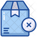 Cancel Delivery Remove Package Wrong Icon
