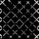 Cancel Documents Cross Icon