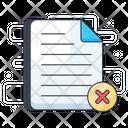 Cancel File Icon