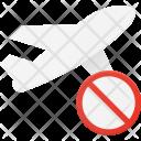 Cancel flight Icon