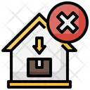 Cancel Home Delivery Icon