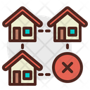 House Cancle Icon